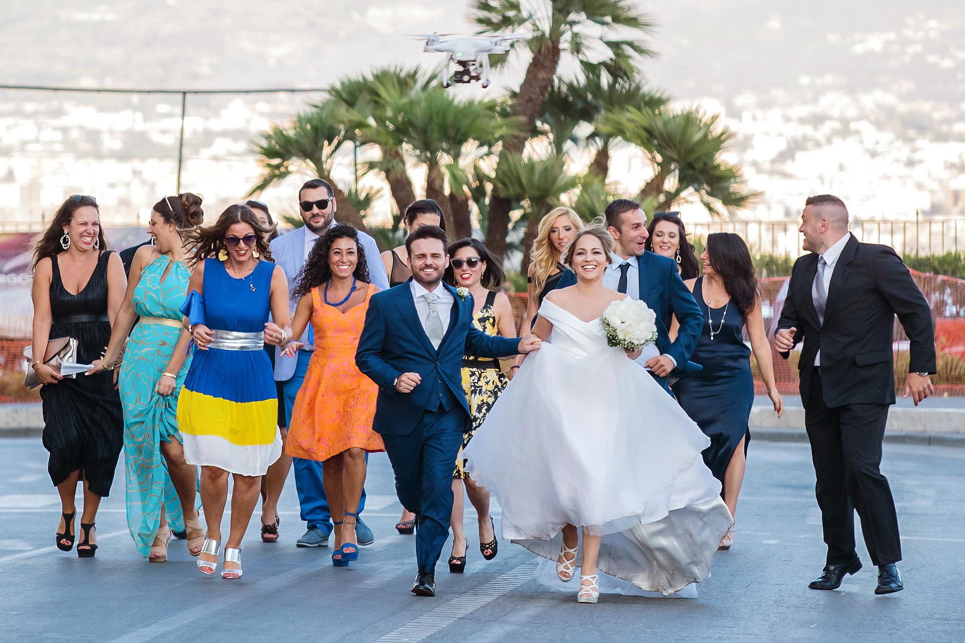 Fotografo matrimonio felice