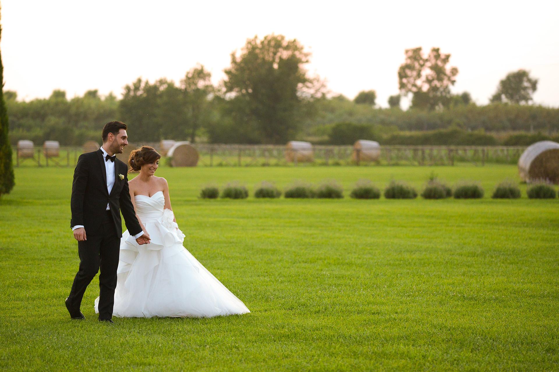 Fotografo matrimonio mama casa in campagna