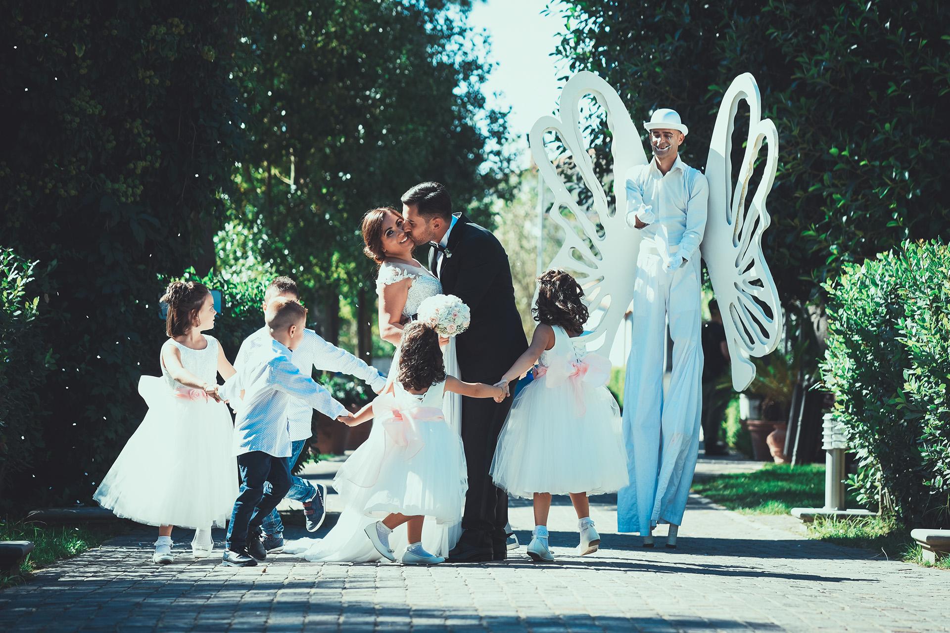 Fotografo matrimonio villa minieri eventi