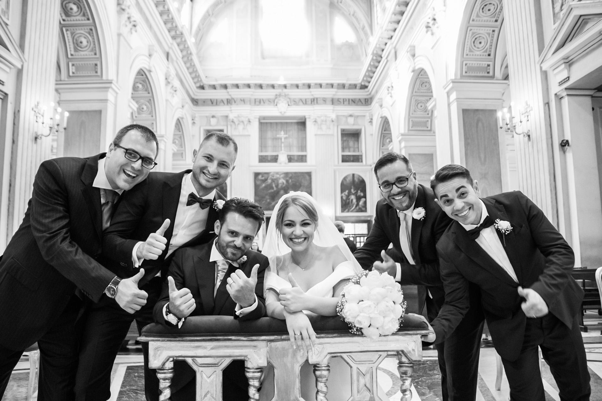 Fotografo matrimonio testimoni