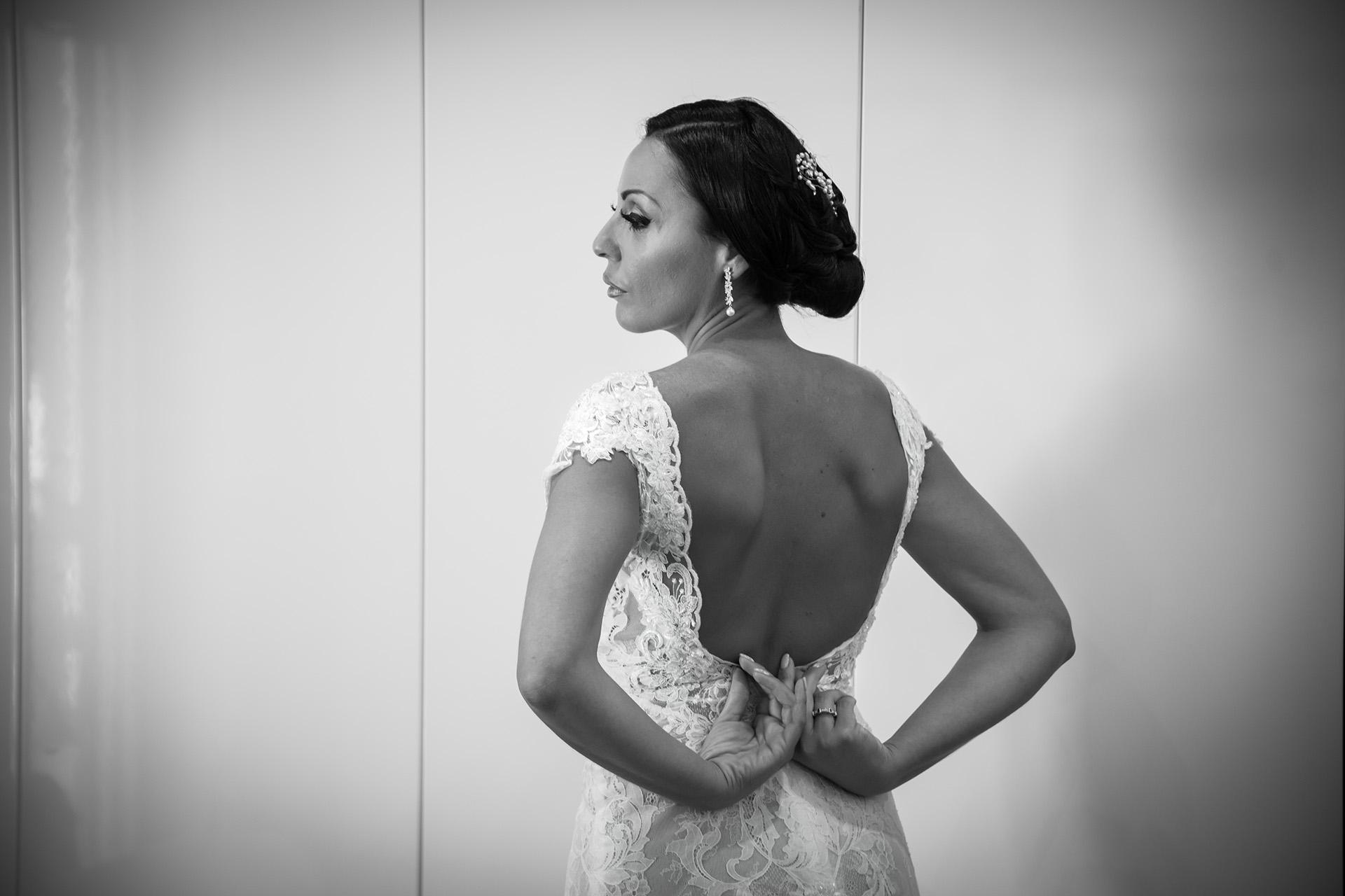 Fotografo matrimonio elegante reportage